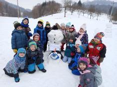 Stavíme sněhuláka do soutěže
