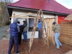 Stavění betlému