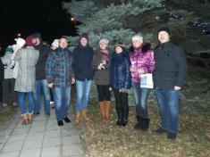 Rozsvícení vánočního stromu vDržkové