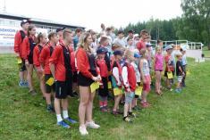 Soustředění mladých hasičů Vizovice