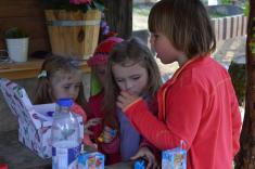 Návštěva na ranči