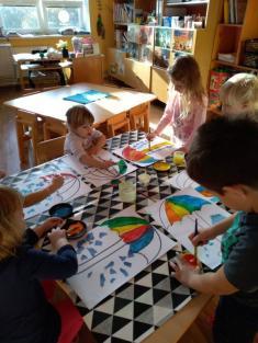 Malování deštníků