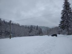 Sněhová nadílka  8.-9.1.2019