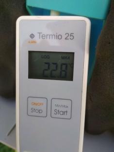 Rekordní teplotní rozdíl