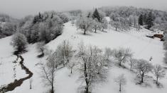 Zimní letecké snímky 24.1.2021