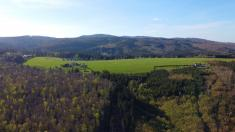 Jarní Držková z dronu