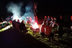 Hasičský táborák